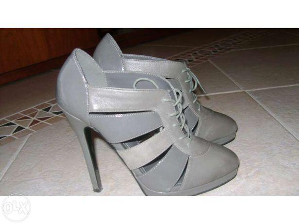 Sapatos cinzentos aldo tam. 36