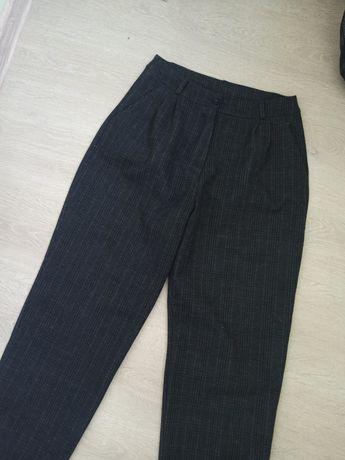 джинсы брюки мом  на флисе