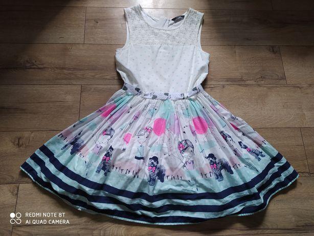Sukienka wyjsciowa.