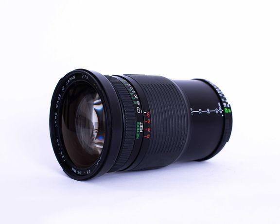 Lente Soligor zoom 28-105mm f2.8-3.8 (Nikon mount)