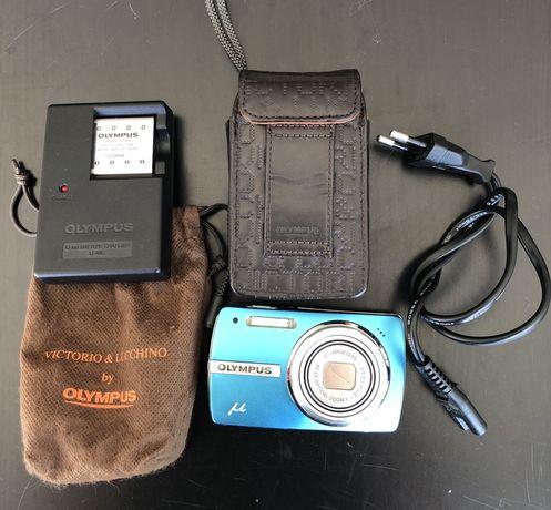 Máquina fotográfica Olympus
