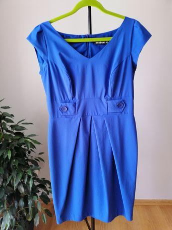 Niebieska sukienka rozmiar 42 XL
