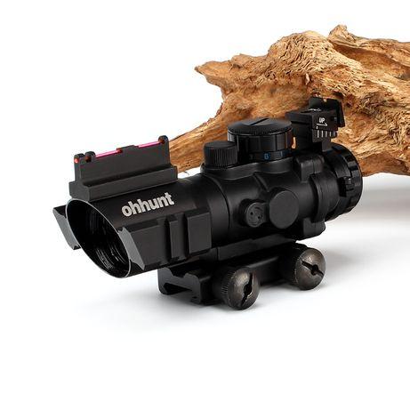 kolimator 4x32 optyczny podświetlany