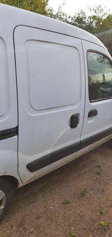 Drzwi boczne Renault Kangoo 2007r. Blacharka