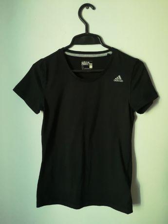 Adidas prime tee climalite s thsirt damski sportowy czarny dry 36