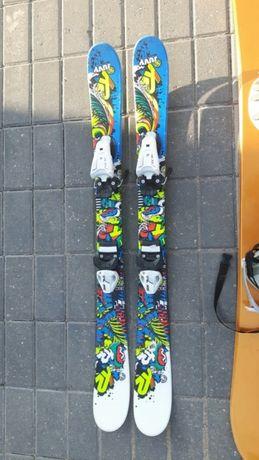 Narty K2 junior 109cm z wiazaniami