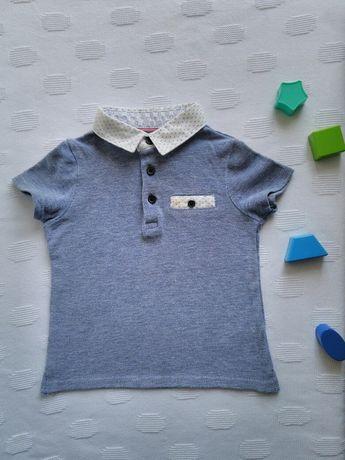 Футболка на мальчика 6-9 мес, Детская футболка