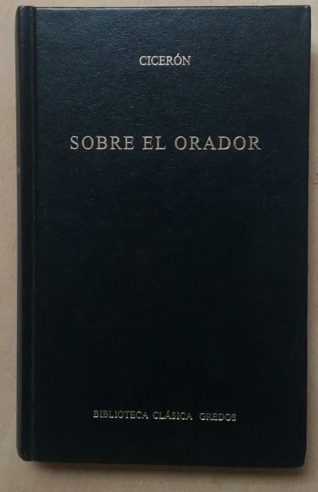 cicerón, sobre el orador, biblioteca clássica gredos Estrela - imagem 1