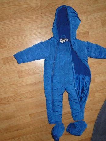 Kombinezon na zimę spodnie na chlopca roz 80