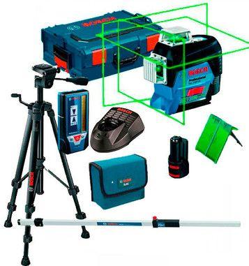 Лазерный нивелир уровень Bosch GLL 3-80 CG оригинал 100%, оф гарантия