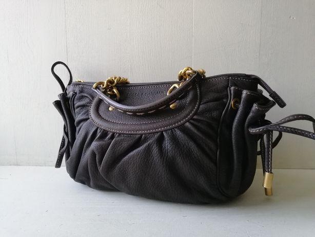 Dolce & gabbana кожаная сумка gucci