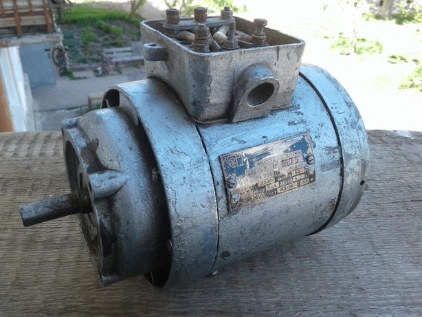 двигатель электрический , электродвигатель времен СССР