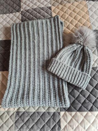 Komplet czapka i szalik