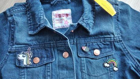 Kurtka bluza jeansowa