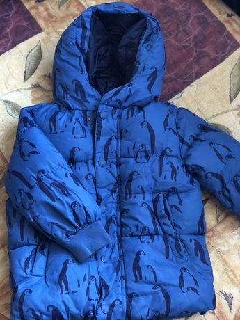 Куртка Zara 3/4 года, пуховик 104