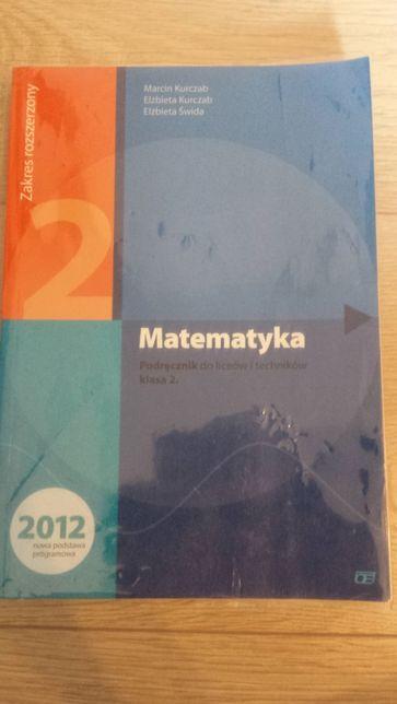 Matematyka podręcznik do liceów i techników kl. 2 zakres rozszerzony