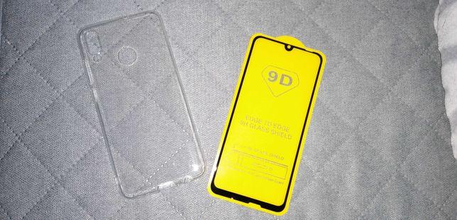 Szkło 9H 9D Huawei P Smart 2019 + etui hit