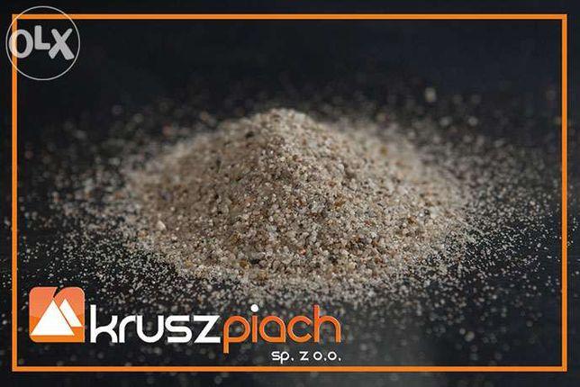 Piasek Kwarcowy 0-2mm Płukany do Wylewek Mixokret Żwir Piasek Kora