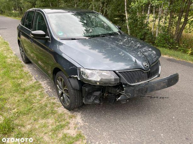 Škoda RAPID 1.6TDi 115KM z Niemiec / opłacony uszkodzony bogata wersja