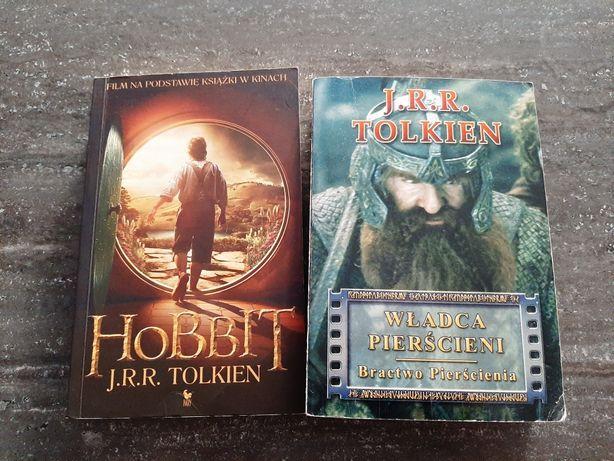 Hobbit , Władca pierścieni Bractwo pierścienia- J.R.R Tolkien