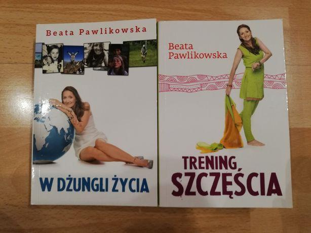 """""""Trening szczęścia"""" """"W dżungli życia"""" Beata Pawlikowska"""