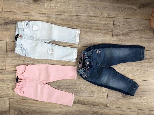 Spodnie dla dziewczynki rozmiar 80 9-12 miesięcy Primark
