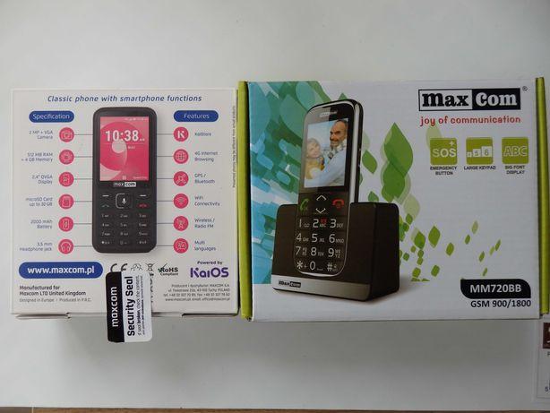 Smartfon Max Com + gratis