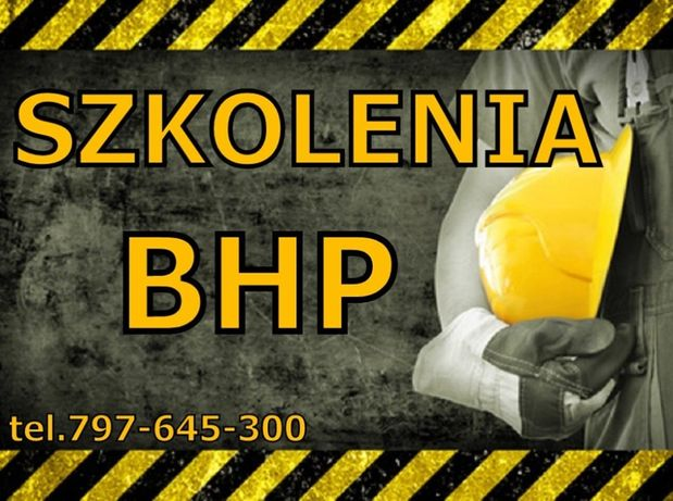 Szkolenia BHP Mielec - BHP Mielec, BHP Kolbuszowa faktura.