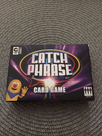 Catch phrase speaking angielski card game gra
