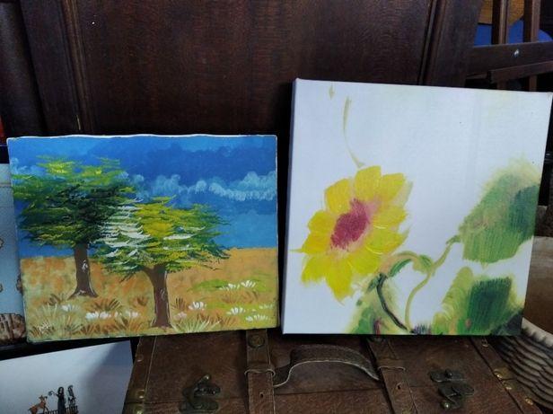 Telas pintadas à mão (2)