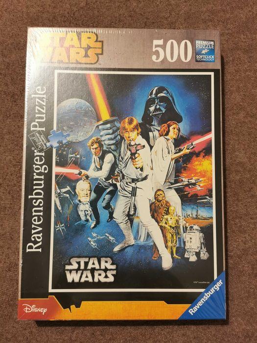 Star Wars puzzle 500 nowe zafoliowane Poznań - image 1