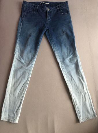Spodnie jeans boyfriend rurki stradivarius unikat hit baggy
