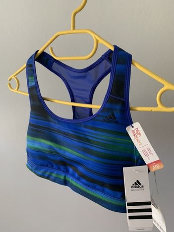 Nowy biustonosz sportowy Adidas