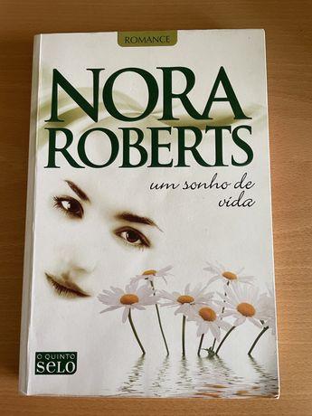 """Livro """" Um sonho de vida"""" de Nora Roberts"""