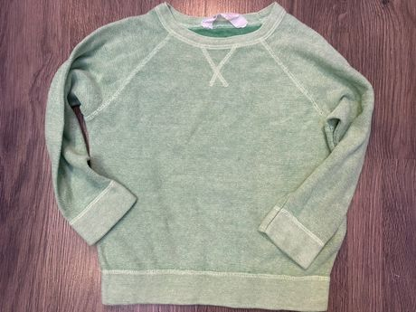 Zielony sweterek H&M 98/104