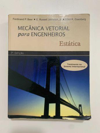 Livro Mecânica Vetorial Para Engenheiros – Estática 7º Edição