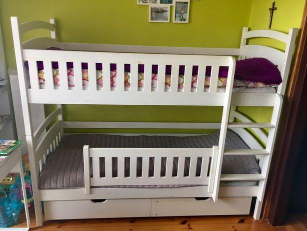 Łóżko piętrowe dwuosobowe 80x180