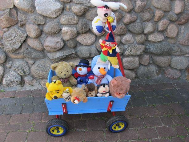 Drewniany wózek - fura dla dzieci
