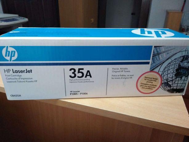 Продам оригинальный картридж HP 35A (CB435A)