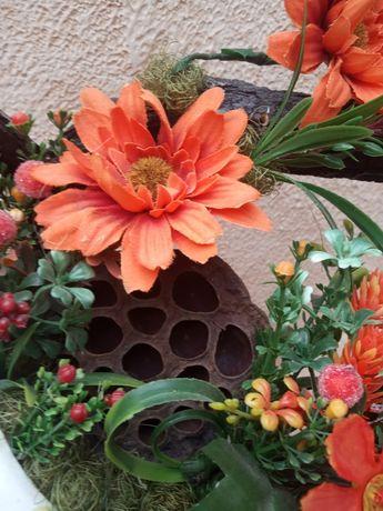 Экибана, флористический букет, декор интерьера