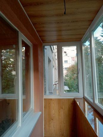 Балкони.лоджі під ключ, Скління,вивід балкону, утеплення, фасад, відко