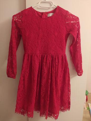 Sukienka koronkowa 128