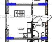 Квартира с документами! Продажа квартиры в Киеве, метро рядом, 14т.дол