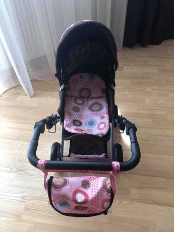 Śliczny wózek dla lalek  Doris  3 w 1 + gratis