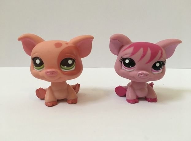 LPS Littlest Pet Shop - figurki świnki
