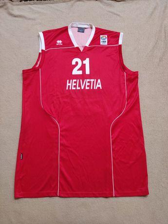 баскетбольна майка форма Helvetia Albrecht 21 fiba Europe Errea