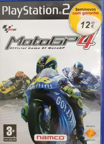 Jogo Playstation 2 - MotoGP4