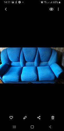 Продам диван с креслом.