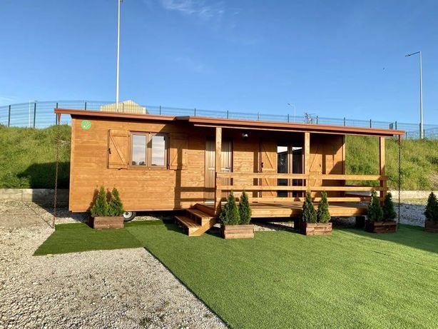 Casa de Madeira -modelo T2 móvel usado
