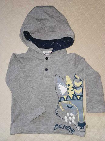 3 bluzki z długim rękawem Coccodrillo 98 cm
